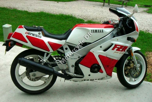 YAMAHA FZR 400 brown