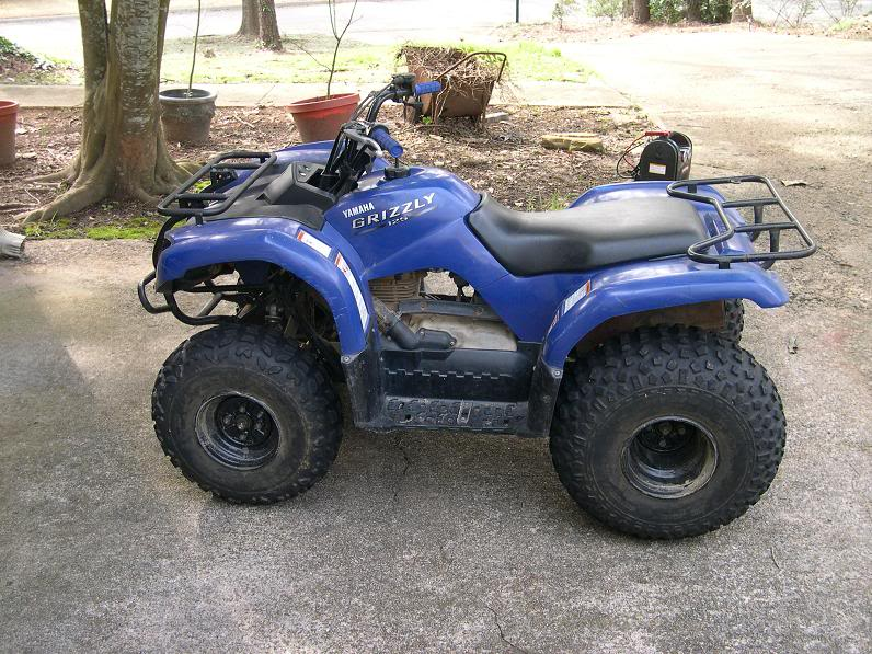 YAMAHA GRIZZLY 125 silver