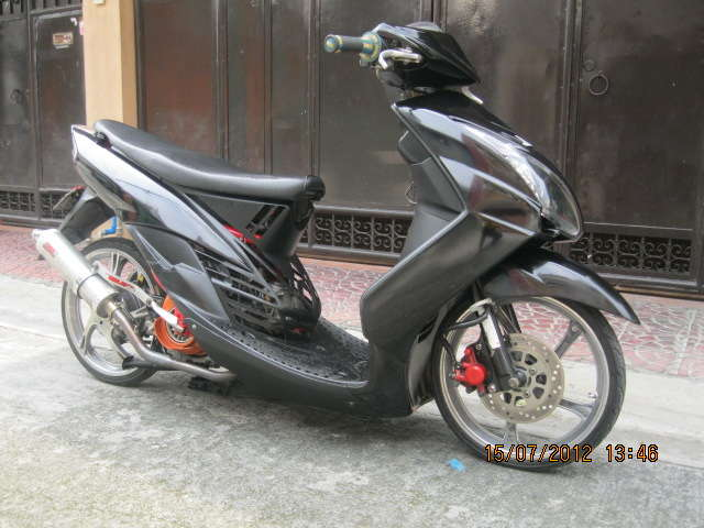 YAMAHA MX red