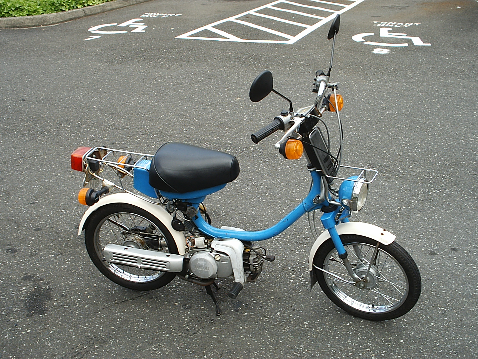 Yamaha Qt50 Review And Photos Yamahopper Wiring Diagram Engine