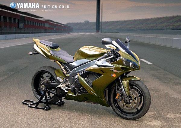 YAMAHA R1 1000 green