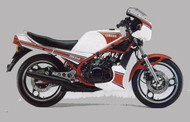 YAMAHA RD engine