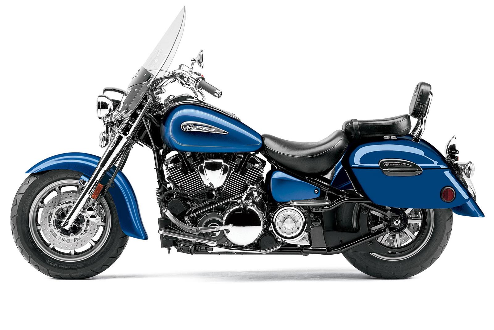 YAMAHA ROAD STAR blue