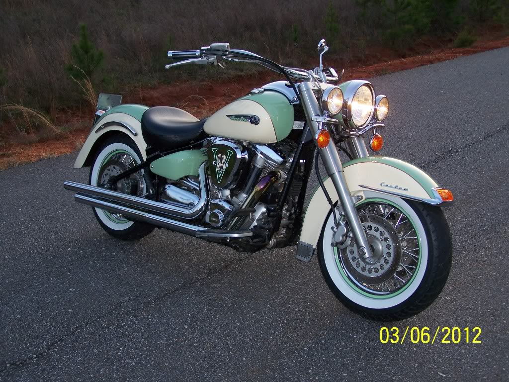 YAMAHA ROAD STAR brown