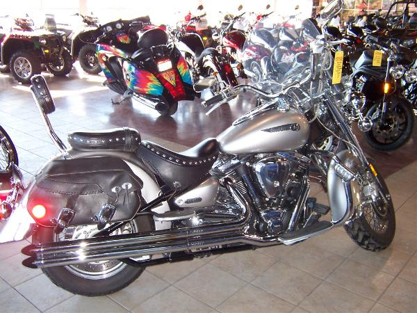 YAMAHA ROAD STAR silver