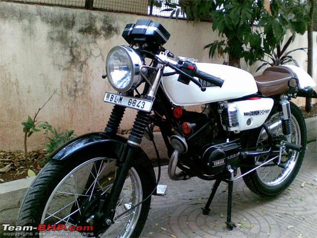 YAMAHA RX 100 white