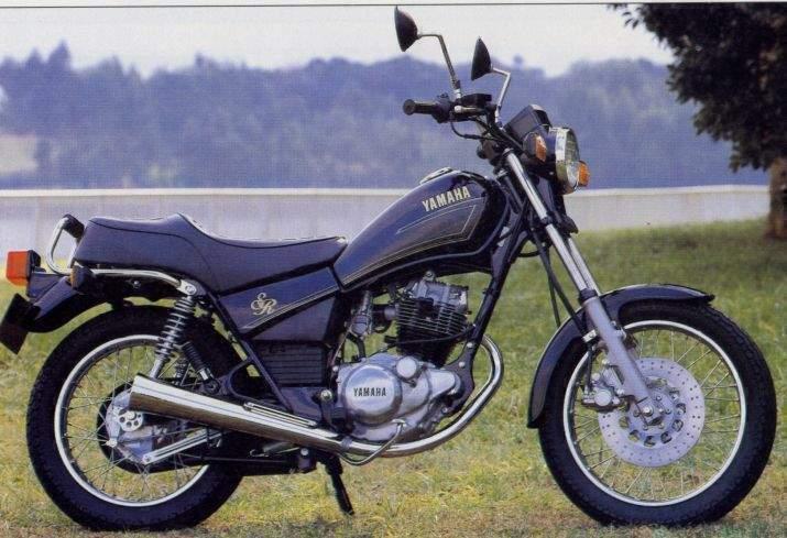 YAMAHA SR 125 green