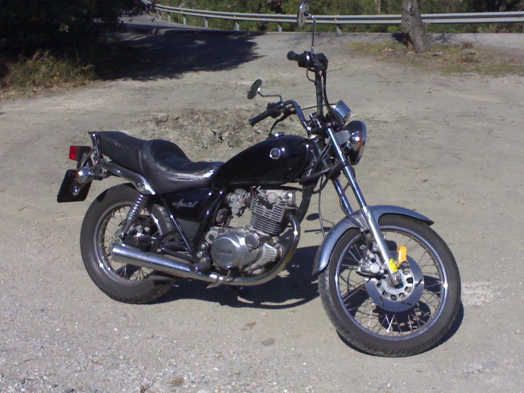 YAMAHA SR 125 silver