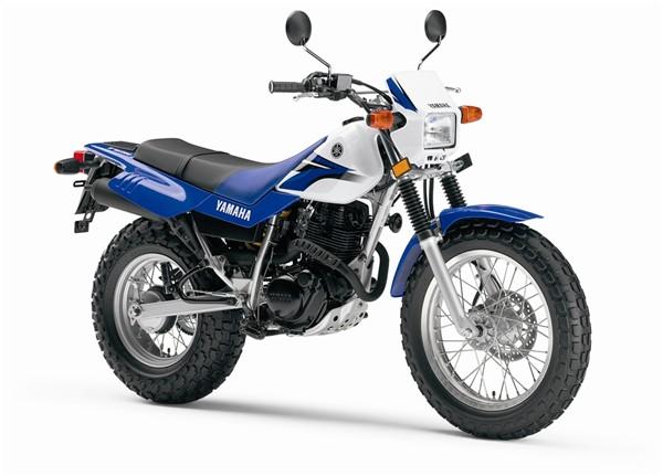 YAMAHA TW 200 blue