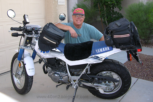 YAMAHA TW200 - Review and photos