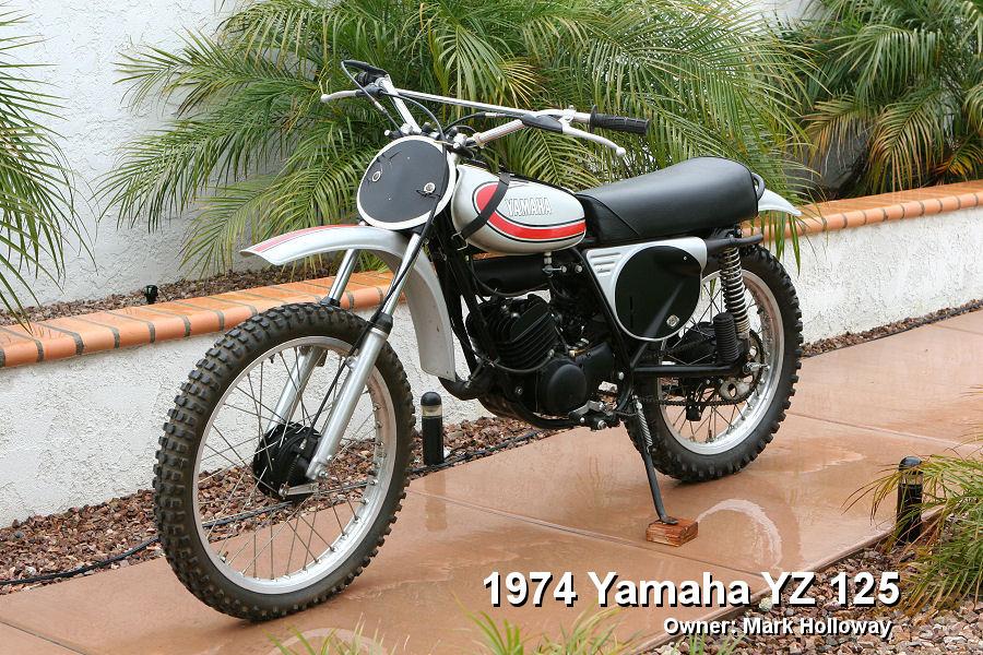 YAMAHA TZ 125 white
