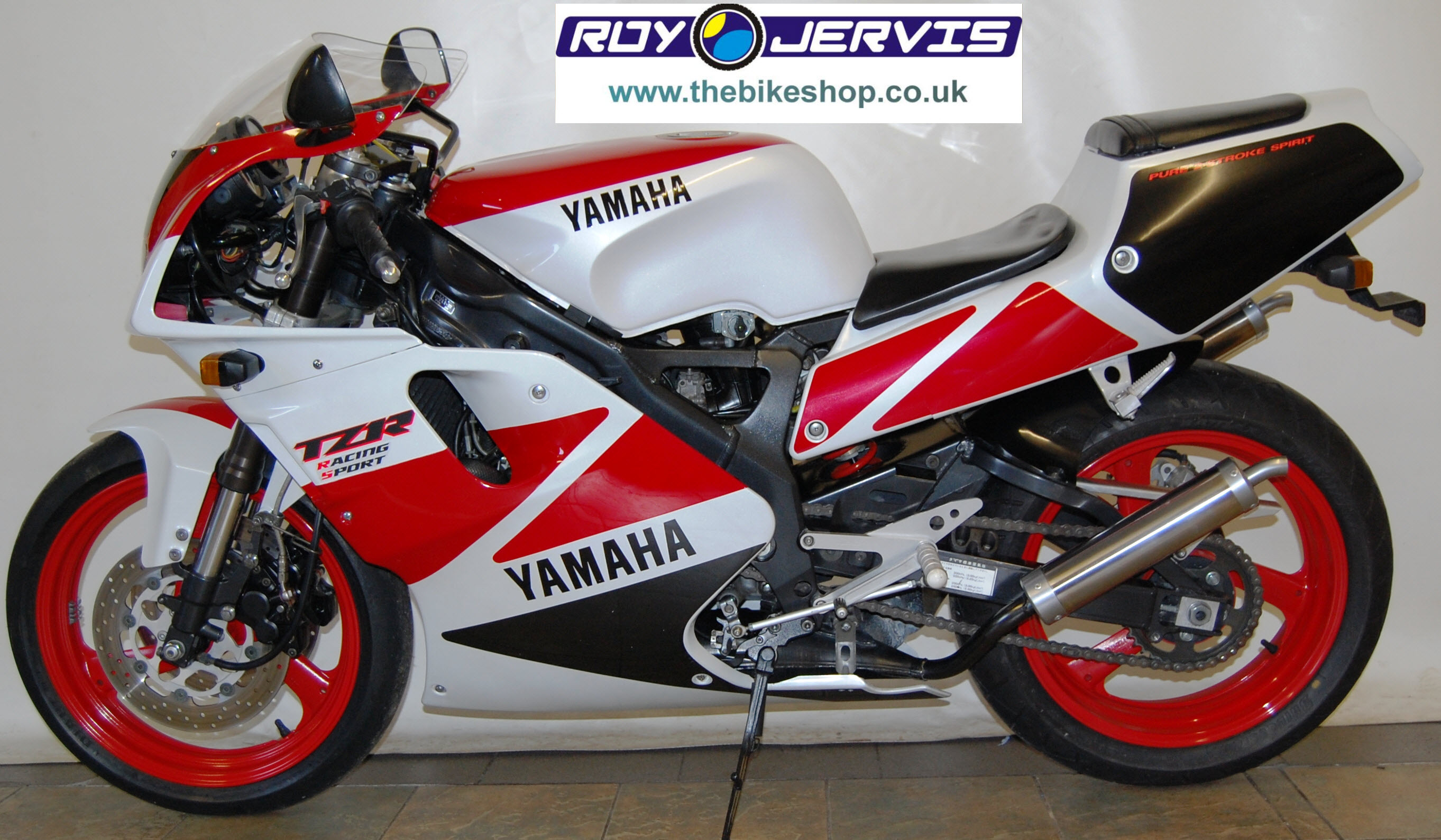 YAMAHA TZR 250 red