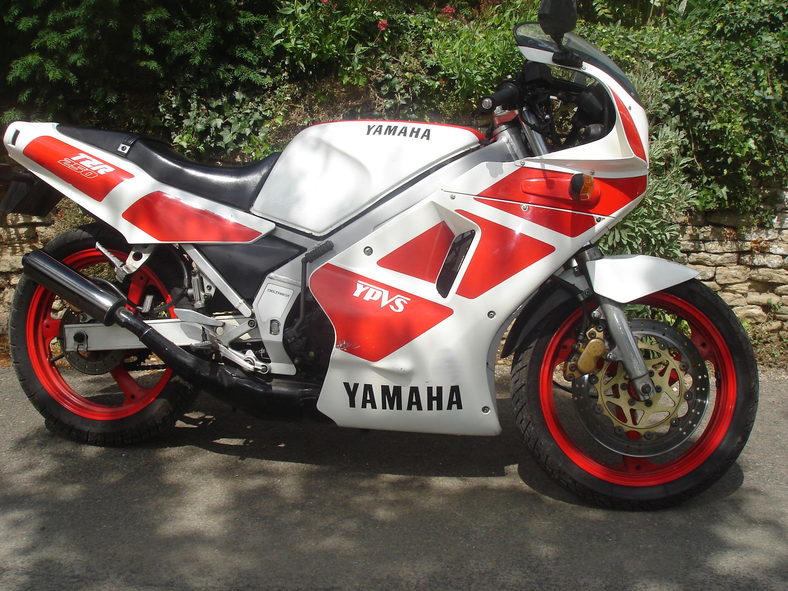YAMAHA TZR 250 white