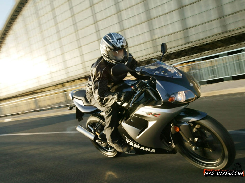 YAMAHA TZR 50 brown