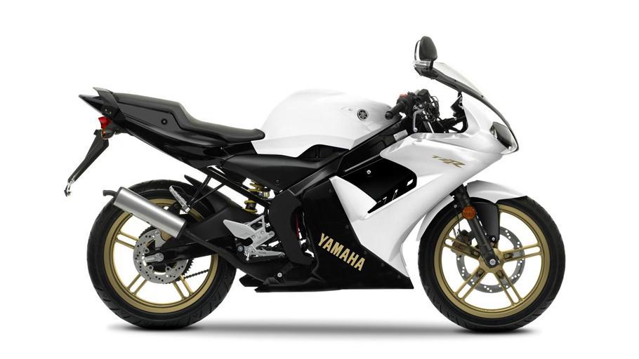 YAMAHA TZR50 white