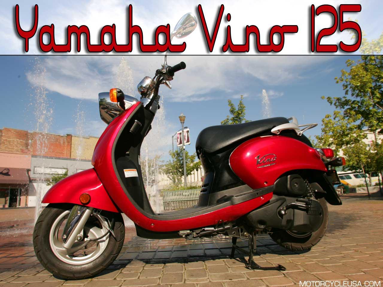 YAMAHA VINO 50 red