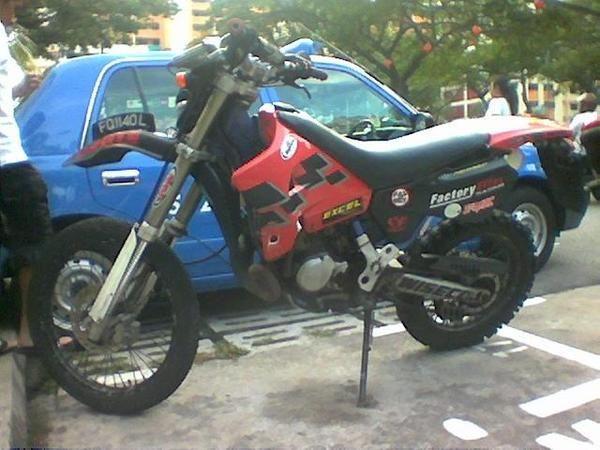 YAMAHA WR 200 blue