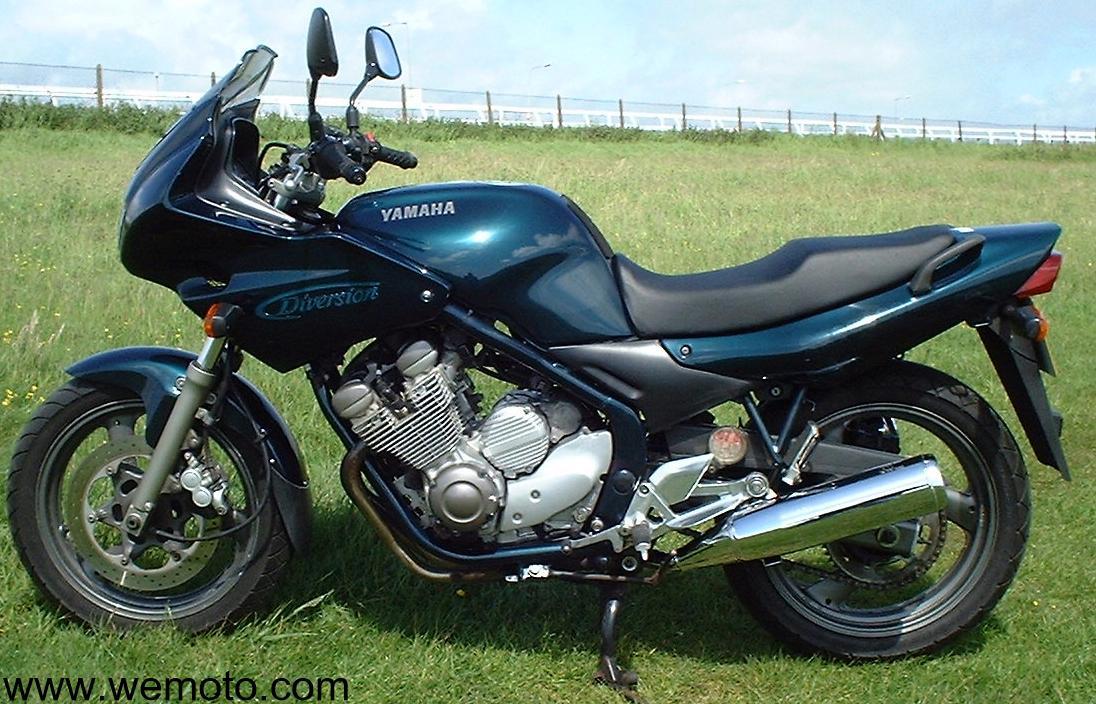 Yamaha xj 600 s photos