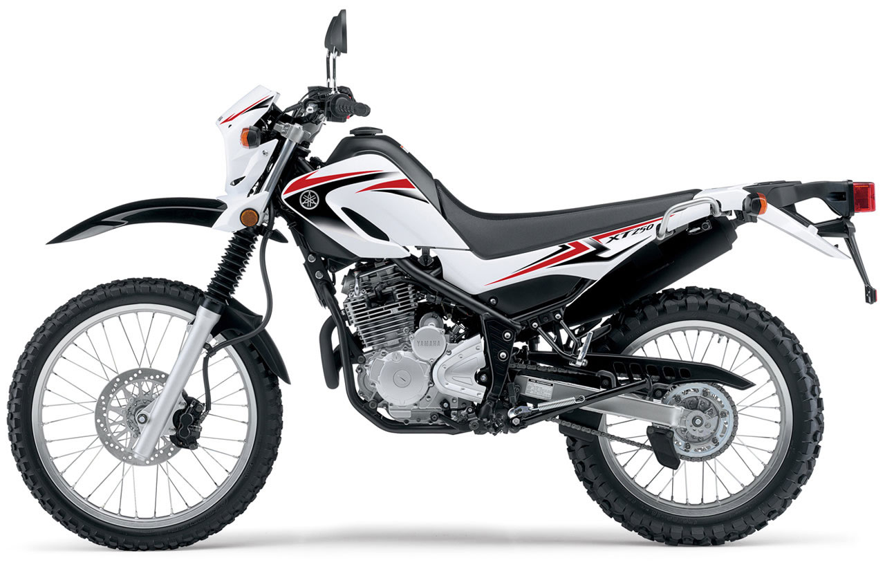 YAMAHA XR 250 brown