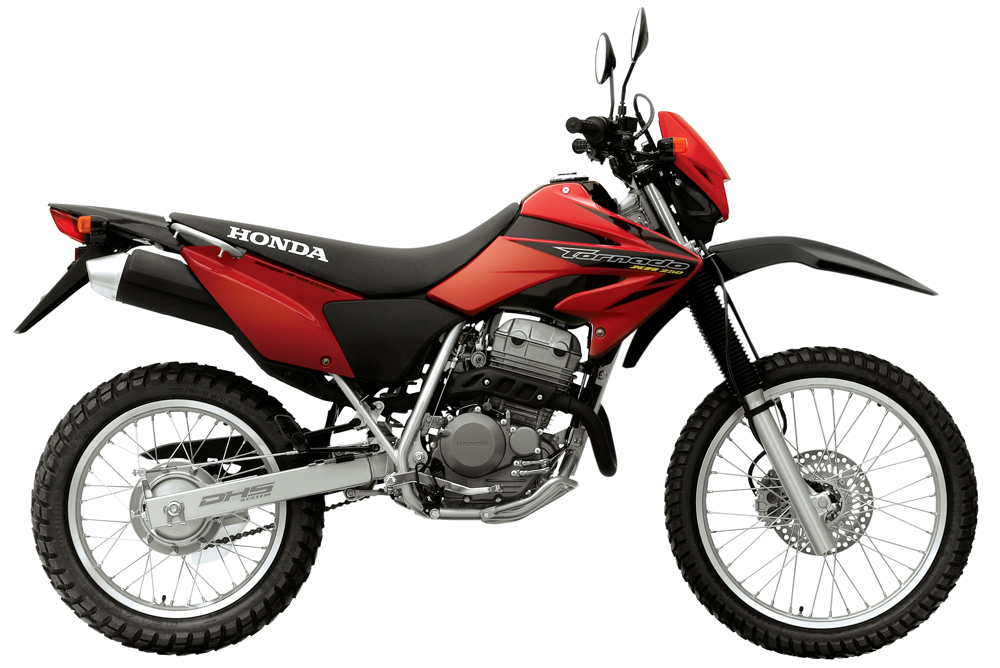 YAMAHA XR 250 green