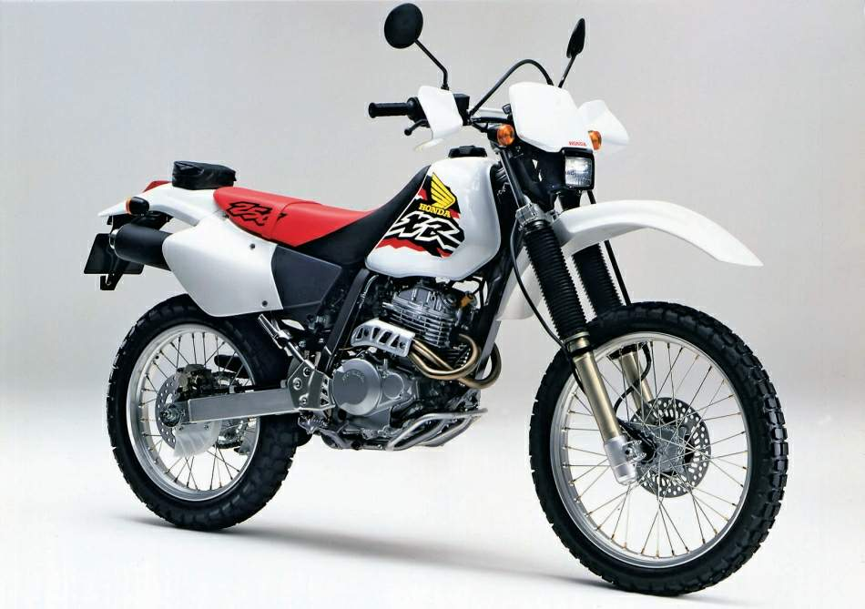 YAMAHA XR 250 interior