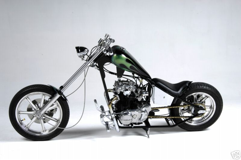 YAMAHA XS 650 engine