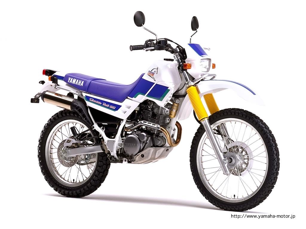 YAMAHA XT 225 SEROW blue
