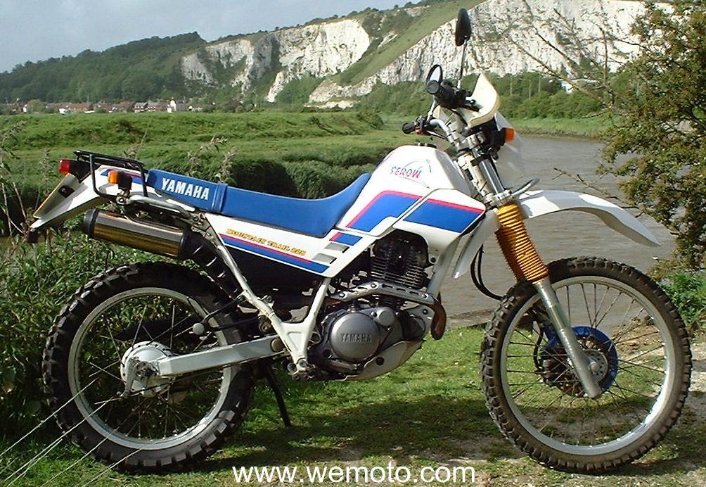 YAMAHA XT 225 SEROW engine