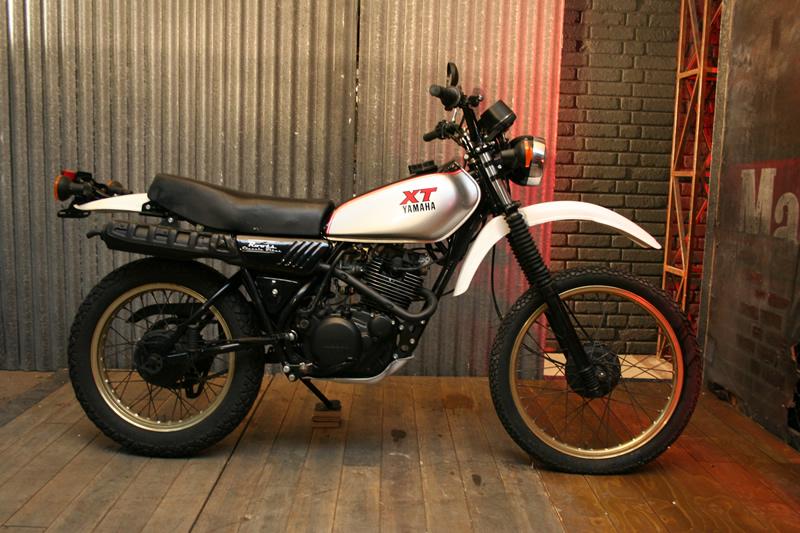 YAMAHA XT 250 - Review and photos