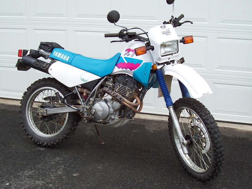 YAMAHA XT 350 engine