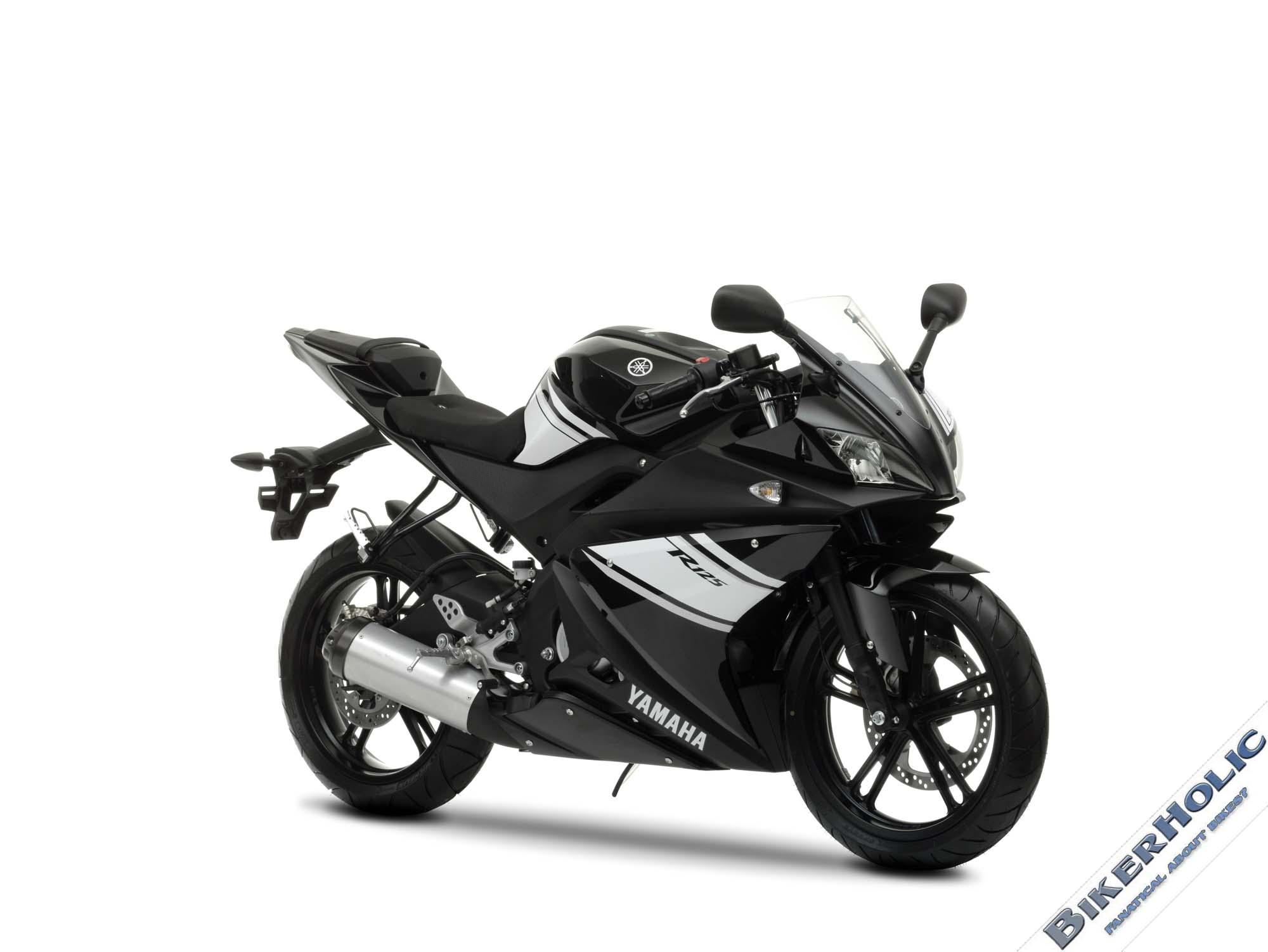 YAMAHA YZF-R125 black