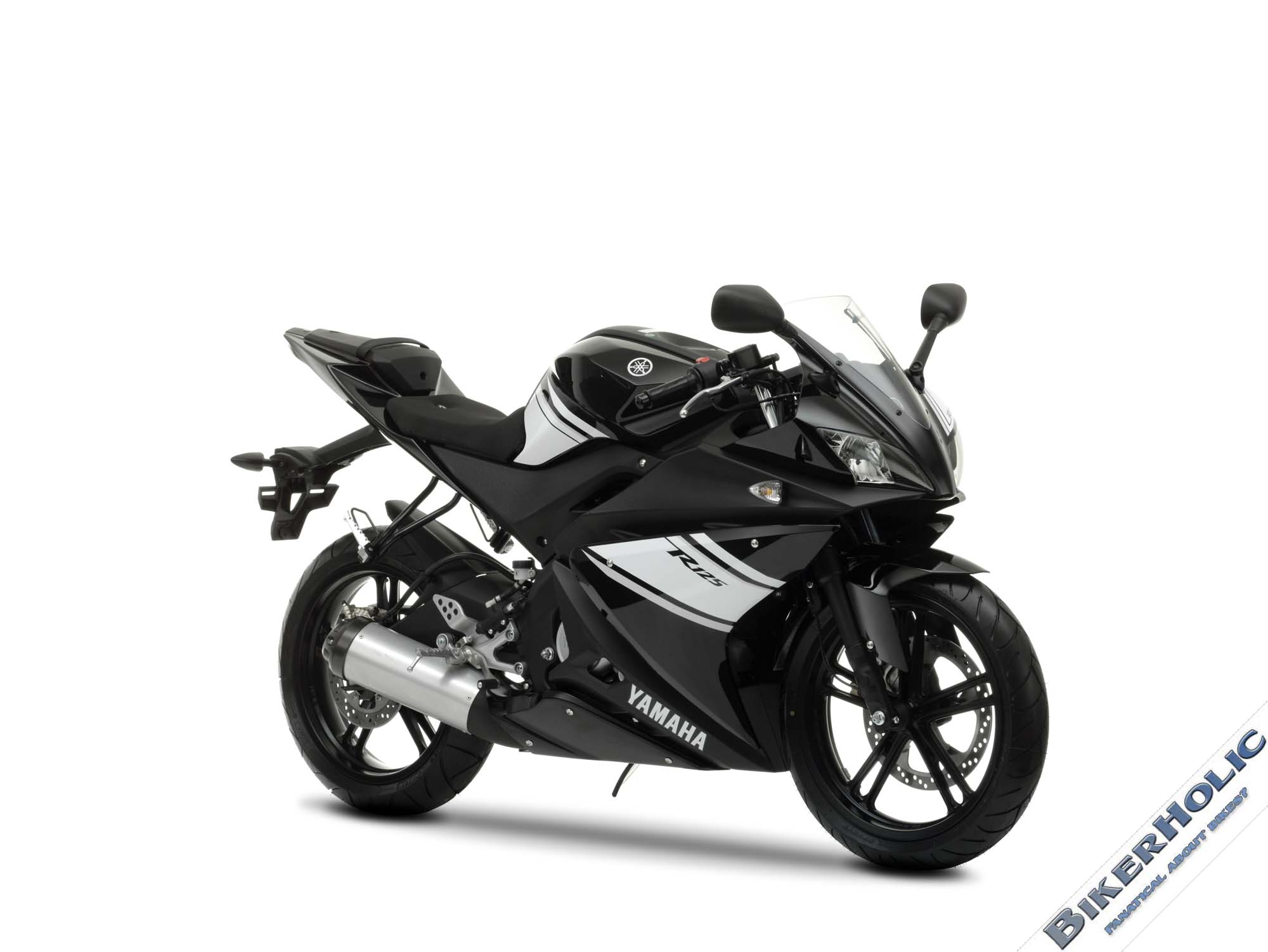 yamaha yzf r125 white. Black Bedroom Furniture Sets. Home Design Ideas