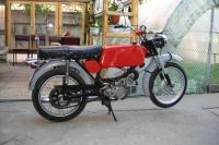 Jawa Mustang 23A