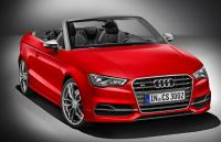 Audi unveils the Audi S3 Cabrio at the Geneva Motor Show in March