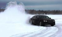 Bentley's Flying Spur is a star attraction at the Ice Event