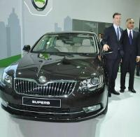 SKODA India Launching All-New Superb at Rs 18.87 lakhs