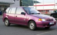Subaru Justy #9