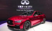 The Infiniti Q50 Moulin Eau Rouge with a more powerful engine to appear at Geneva