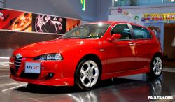 ALFA ROMEO 147 1.6 red