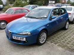 ALFA ROMEO 147 blue