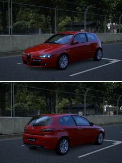 ALFA ROMEO 147 brown