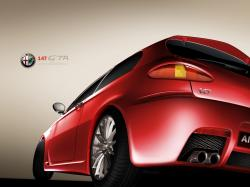 ALFA ROMEO 147 red