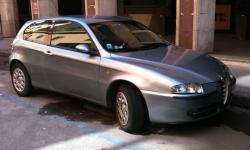 ALFA ROMEO 147 silver