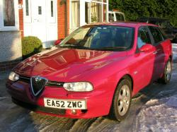 ALFA ROMEO 156 1.6 red