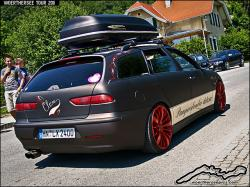 ALFA ROMEO 156 brown