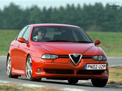 ALFA ROMEO 156 red