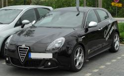 ALFA ROMEO GIULIETTA black