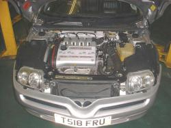 ALFA ROMEO GTV engine