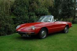 ALFA ROMEO SPIDER 1750 brown