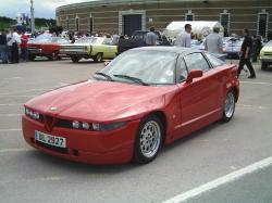 ALFA ROMEO SZ red